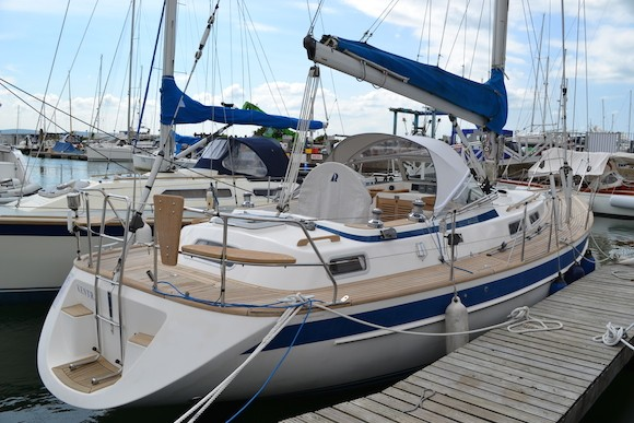 Hallberg Rassy 36 Sold Offshore Powerboats