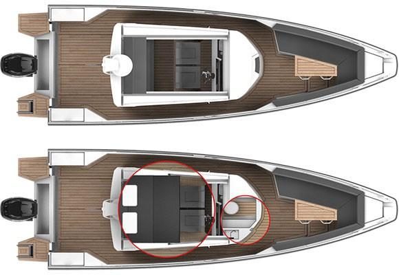 Axopar Boats, Axopar 28 Cabin