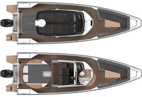 Axopar Boats, Axopar 28 T-Top