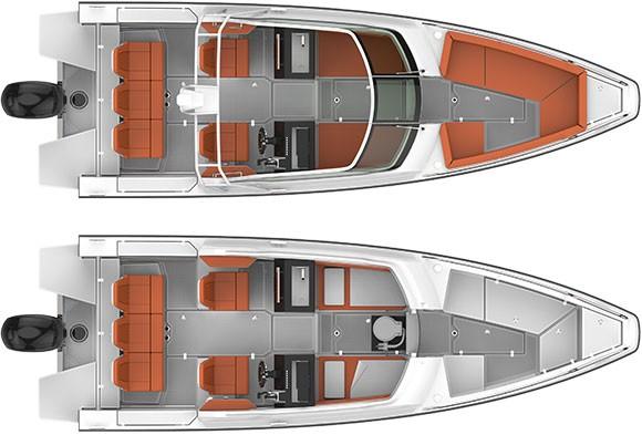 Axopar Boats, Axopar 24 Open
