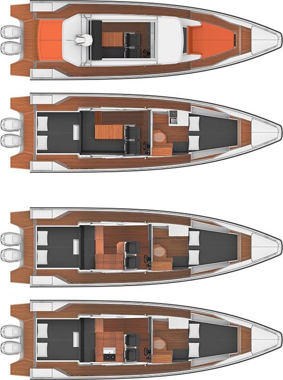 Axopar Boats, Axopar 37 AC