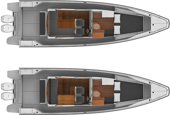 Axopar Boats, Axopar 37 SC