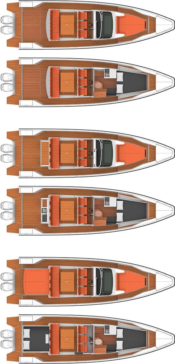 Axopar Boats, Axopar 37 T-Top