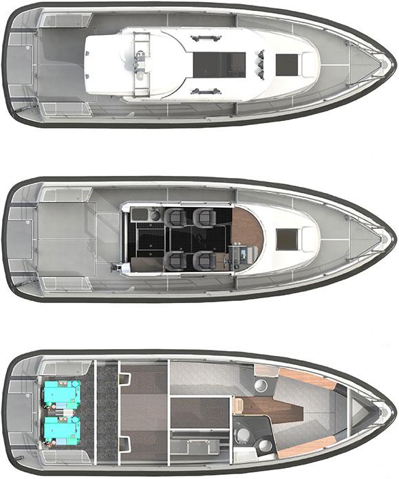 Paragon Yachts, Paragon 31 Cabin