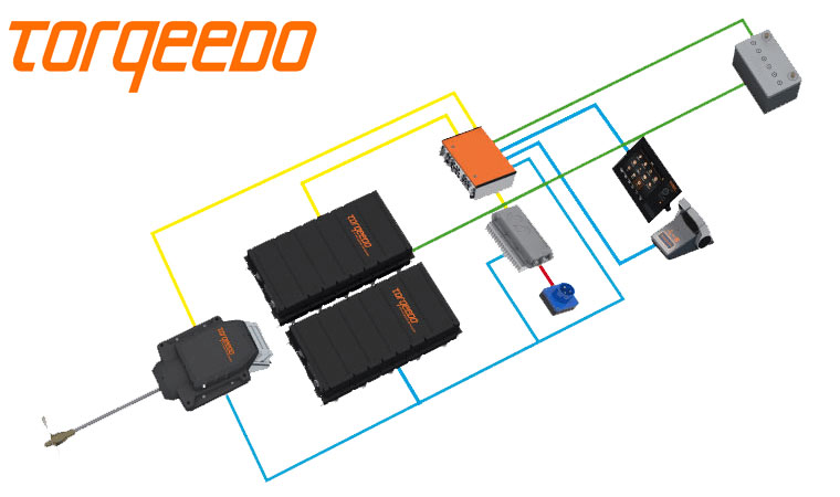 torqeedo inboard system components