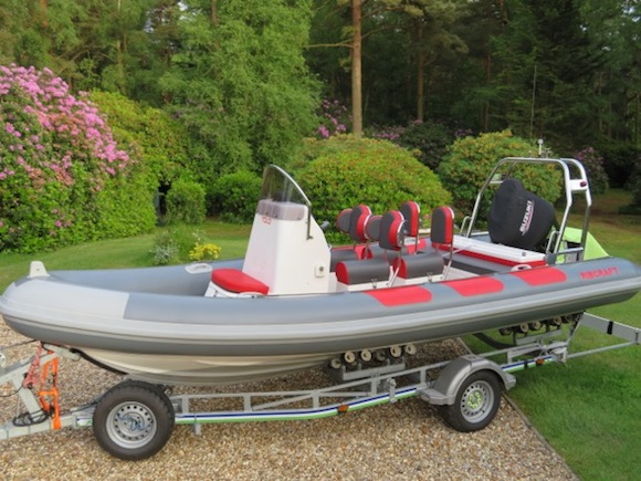 RIBCRAFT 5.85M COMMERCIAL SPEC 2014 'SOLD'