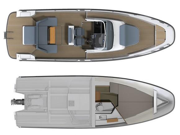 Nimbus Boats, Nimbus Tender 9 (T9)