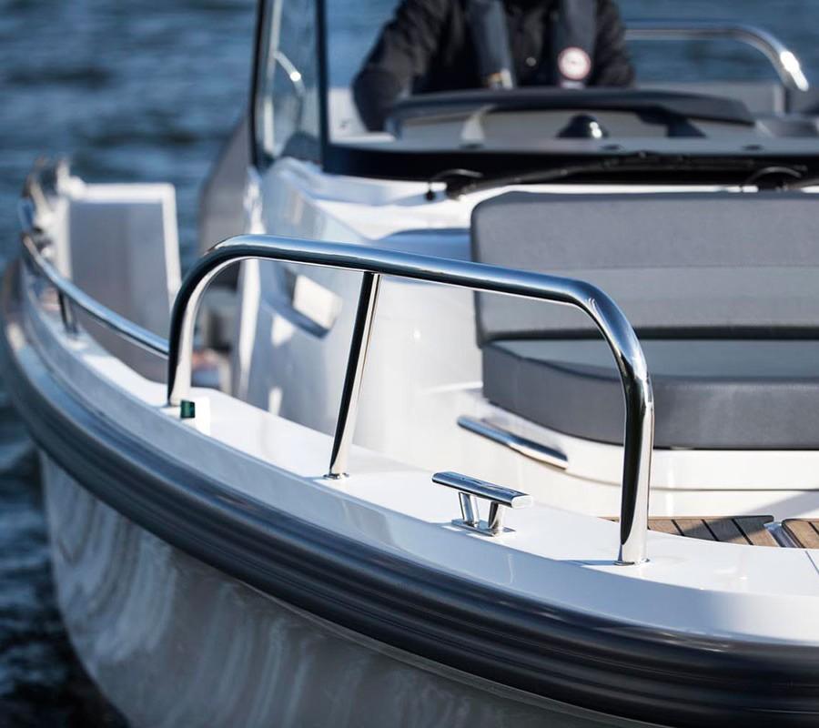 Nimbus Tender T9 detail