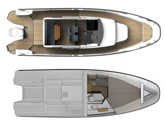 Nimbus Boats, Nimbus Commuter 9 (C9)